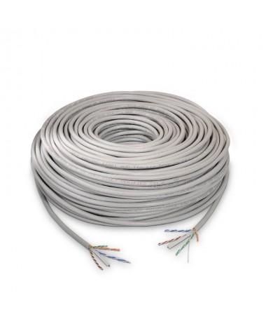 pul liBobina cable de red CAT6 UTP AWG24 rigido 100 cobre calidad garantizada li liCumple las normativas ANSI TIA EIA 568 B 1 C