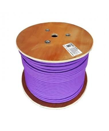 pul liBobina cable de red CAT7 S FTP PIMF AWG23 100 cobre li liCable de 4 pares 4 x 2 x AWG23 1 Rigido Diametro 057 mm li liEst