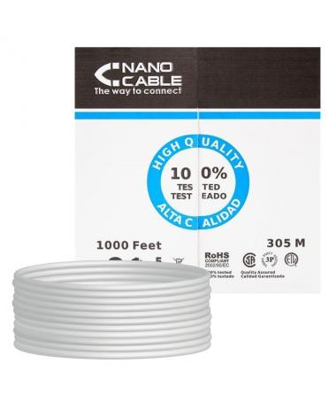 STRONGEspecificaciones tecnicasbr STRONGULLIBobina cable de red CAT 6e UTP AWG24 rigido 100 cobre calidad garantizada LILICumpl