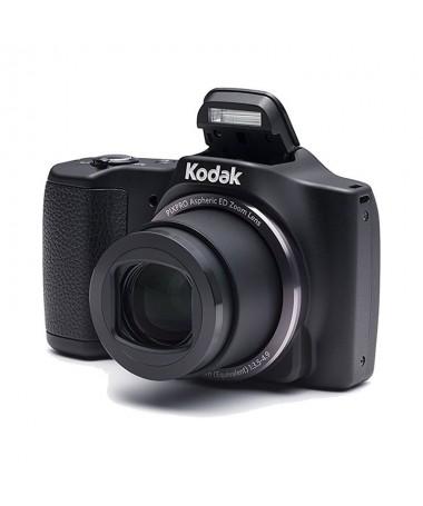 pLa camara compacta KODAK PIXPRO FZ201 Friendly Zoom con un impresionante zoom optico de 20x es el perfecto companero de viaje