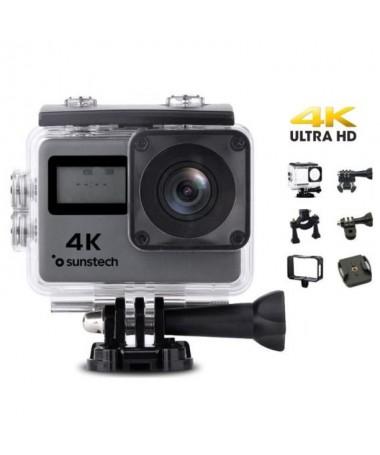 pCon la camara ultraligera y sumergible ADRENALINE 4K podras fotografiar y grabar lo que quieras en 4K mientras practicas tu de