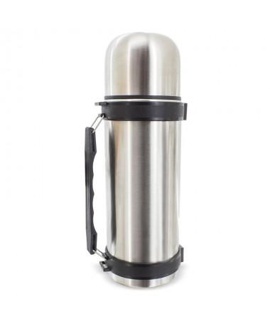 pEl termo Julia presenta una gran capacidad de 1100 ml en su interior y unbrdiseno practico con asa incorporada que hace mas co