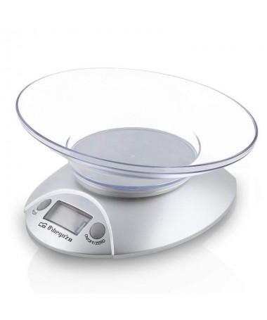 pul liPeso de cocina electronico  li liDisplay LCD 175mm li liBol transparente li liCapacidad max 3kg li liEscalado 1g li liUni