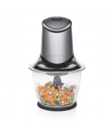 pLa potente picadora Tristar BL 4019 de 400 W es ideal para picar nueces frutas y verduras gracias a sus cuatro cuchillas Por q