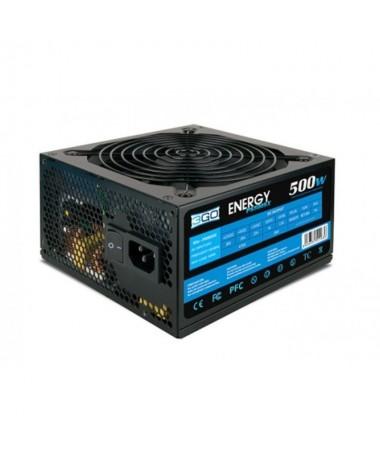 pFuente de alimentacion de 500w en formato atx valida para equipos intel y amd de gamas media y alta Dispone de un ventilador d