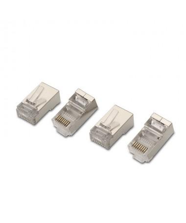pul liConector para cable red CAT6 RJ45 FTP 8 contactos li liBolsa 10 unidades li liNormativas RoHS li liTest de funcionamiento
