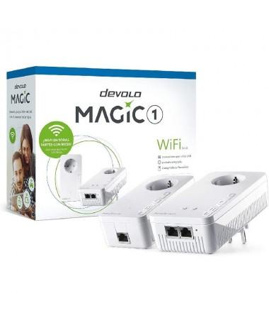 h2WiFi ilimitado en toda la casa eso es devolo Magic 1 WiFi h2pMesh Wi Fi y la innovadora tecnologia Powerline conectan todos l
