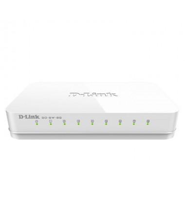 PPExtiende la red de tu casa con Switch D Link GO SW 8G Conectandolo al router puedes anadir hasta 7 puertos mas para 7 disposi
