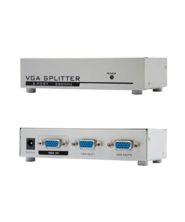 STRONGEspecificaciones tecnicasbr STRONGULLIDuplicador de VGA para dos monitores LILIAncho de banca de 250MHz LILIAumenta la se