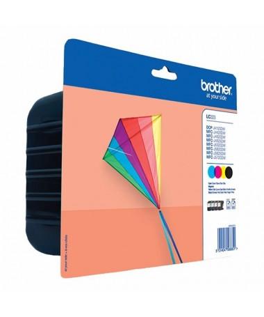 pPack de 4 cartuchos BK C M Y Duracion estimada hasta 550 paginas cada color segun ISO IE 24711brul li550 paginas cada color BK