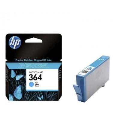 El cartucho de tinta cian HP 364 imprime fotos con calidad de laboratorio Confie en HP para una impresion de calidad superior y