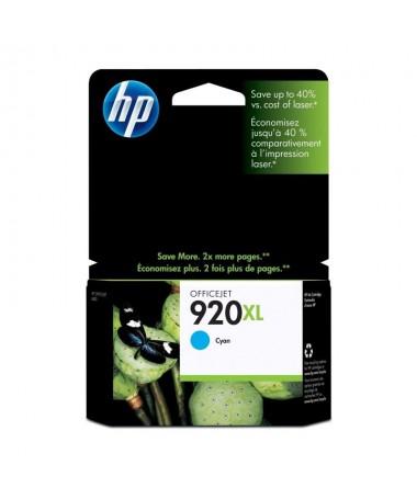 Los cartuchos de tinta cian HP 920XL imprimen documentosprofesionales a color con un coste inferior al laser contintas HP Offic