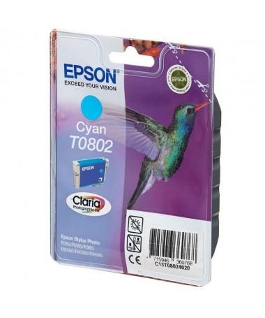 Cartucho de tinta Epson T0802brph2Especificaciones Tecnicas h2 pulliColor Cian liliCapacidad 74Ml li ulph2Compatible h2 pulliEp