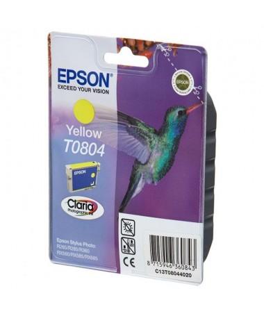 Cartucho de tinta Epson T0804brph2Especificaciones Tecnicas h2 pulliColor Amarillo liliCapacidad 74Ml li ulph2Compatible h2 pul