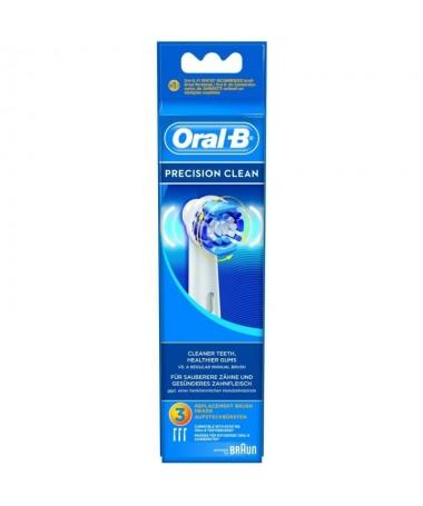 pul liColor del producto Blanco li liNumero de cabezales incluido 3 piezas li liCompatibilidad Oral B Precision Clean Oral B Tr