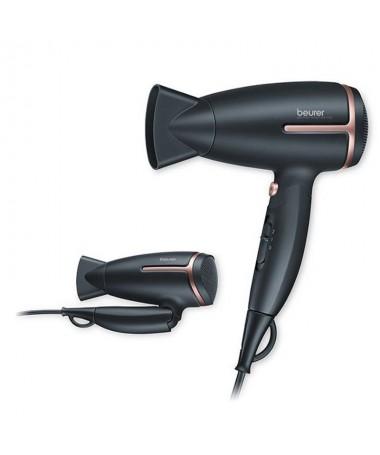 pEste pequeno secador de viaje de 1600 W universal es el companero ideal para lucir un cabello estupendo alla donde vayas Con s