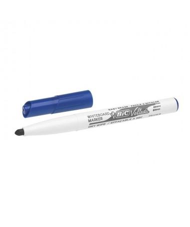 Rotulador para pizarra blanca de borrado en seco y base de acetona Cuerpo de plastico y capuchon ventilado del color de la tint