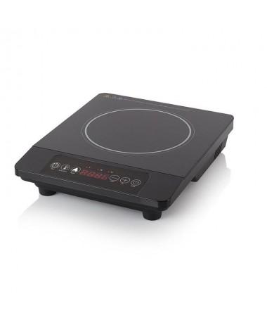 pLa lujosa placa de induccion Tristar IK 6178 es una placa calefactora autonoma con un brillante diseno en color negro Gracias