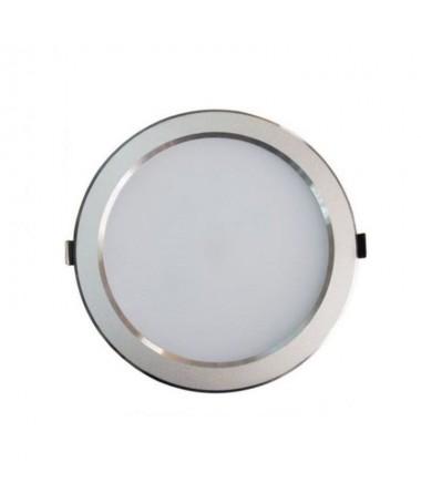 pDownlights de aluminio lacado en plata con difusor de policarbonato Incluye Driver LED Isolated y placa SMDbrbrul liReferencia