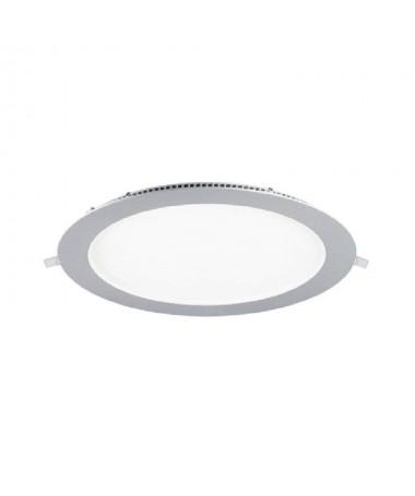 pDownlight fabricado en aluminio y policarbonato ennbspniquel Cuenta con un LED SAN AN SMD 2835 unas medidas exteriores de Ø22