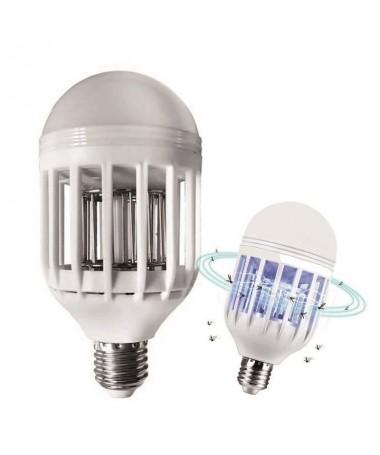 pLa doble luz LED y UV eficaz atrae y mata mosquitos polillas y otros insectos voladores de forma natural y segura para tu fami
