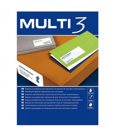 pul liEtiquetas blancas en formato DIN A4 525 x 297 mm li liAptas para impresoras Inkjet Laser y Fotocopiadoras li liTamano eti