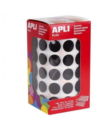 pGomets autoadhesivos circulares color rojo con un diametro de 15 mm en estuchebrul liMedidas o 15mm li liCantidad 2832 li liTi
