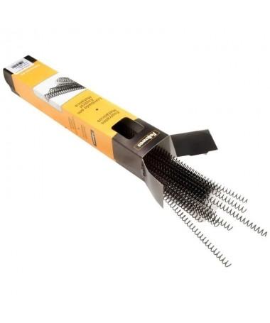 pul liEspiral metalica para encuadernacion valida para maquinas de espiral paso 5 1 59 agujeros li liPara encuadernar hasta apr