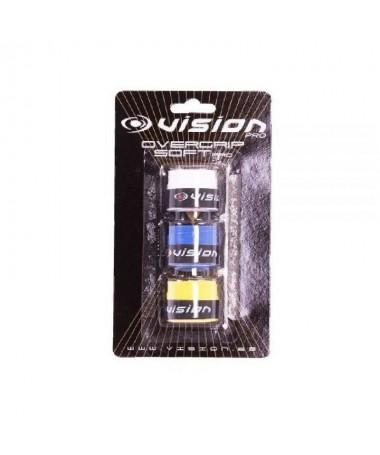 pLos overgrips sirven para facilitar el agarre de nuestra pala y absorber el sudor Contiene 3 Unidadesbr p