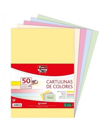 pul liCartulinas FIXOpaper certificadas FSC li liEn formato li liDIN A4 li liGramaje de 180 g m li liPaquetes de 50 cartulinas