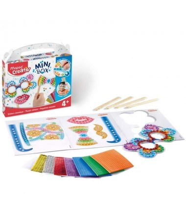 p1 Despega los stickers de colores y pegalos sobre el formato elegidobr2 Crea tus propios accesorios y diviertete con tus amigo