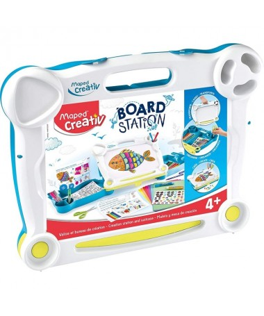 pul liMaleta creativa un maletin de almacenamiento que se convierte en un escritorio de dibujo y manualidades li liContiene Mal