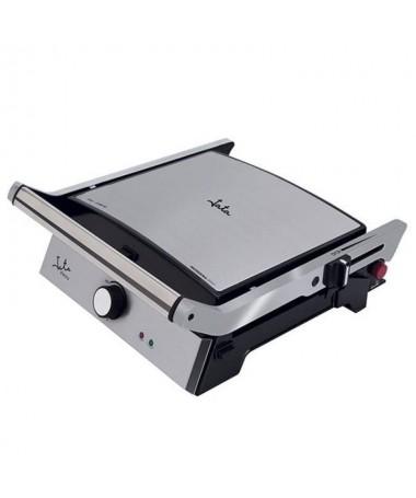 pGrill de asar con placas extraibles y reversibles rayada y lisa Con sistema Super Diet para facilitar la limpieza de salsasbru