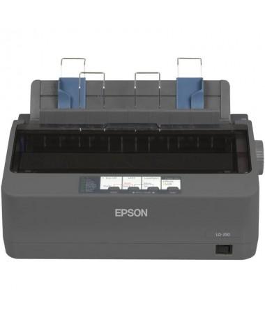 La LQ 350 es una impresora muy economica que ayuda a ahorrar dinerocon su cinta de alta capacidad de 25 millones de caracteres