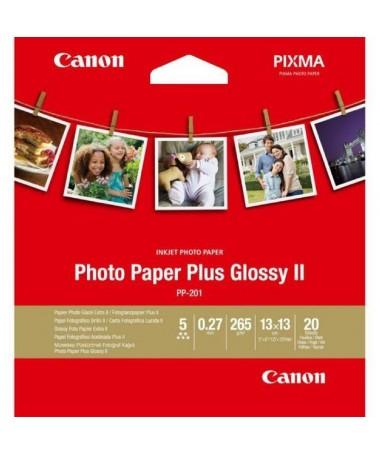 pul liPapel fotografico Brillo II Plus Canon PP 201 liliDimensiones 13 x 13 cm li li20 hojas li li265 gr m2 li ulbr p