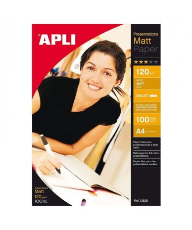 pPapel mate 120g en bolsabrul liMedidas 210 x 297mm li liCantidad 100 li liTipo de papel Papel Mate li liPapel mate 120g Redact