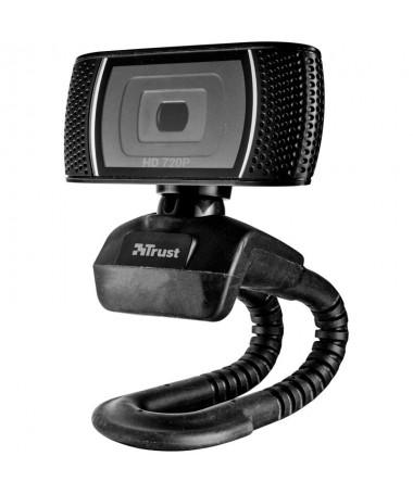 PElegante webcam HD de 720 p con un comodo microfono incorporado ideal para chats de videoBR PULLIIdeal para usar con Skype Cor