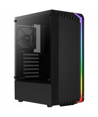 pCon un diseno novedoso la caja Bionic cuenta con un panel frontal RGB que ofrece a tu setup gaming una esteticabrunica y origi