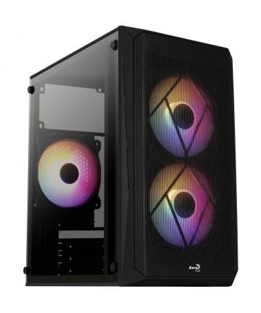 pLa caja gaming CS107 V2 cuenta con un compacto y elegante diseno y te ofrece al mismo tiempo una caja de alto rendimiento en e