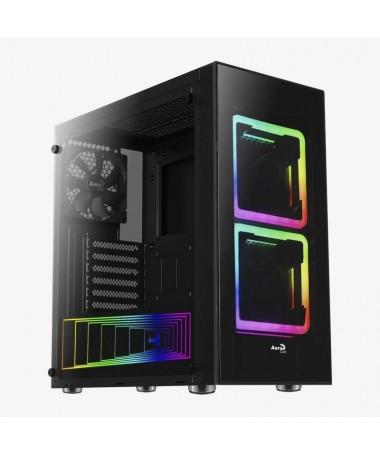 pTOR 8211 Semitorre ARGBbrbrLa caja TOR viene equipada con un compartimento interno RGB y dos espectaculares ventiladores front