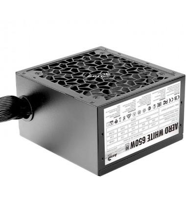 pLa fuente de alimentacion Aero White 650W cuenta con las prestaciones y los sistemas de seguridad necesarios para ofrecer el m