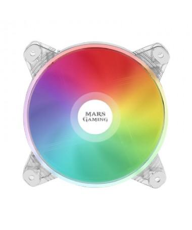 ph2VENTILADOR CHROMA RGB MFD h2pVentilador transparente con una impresionante iluminacion DUAL CHROMA RGB automatica y un funci