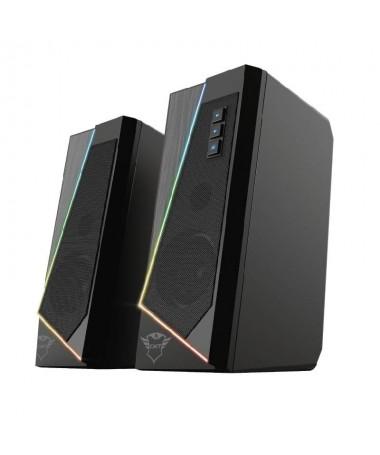 ph2Un complemento elegante h2Gracias a su diseno estilizado y a la sutil iluminacion RGB el juego de auriculares GXT 609 Zoxa d