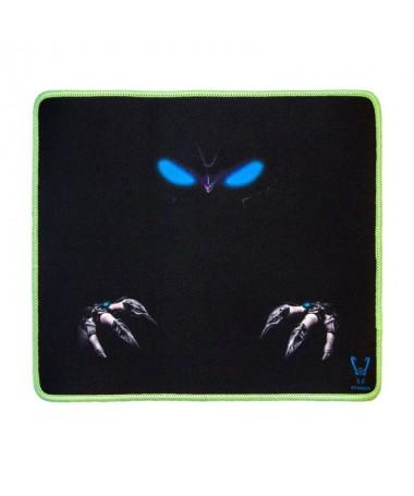 ph2Alfombrilla gaming para raton y teclado con bordes luminiscentes 28x25 Stinger Pad 1 A h2Para que tus movimientos sean los m