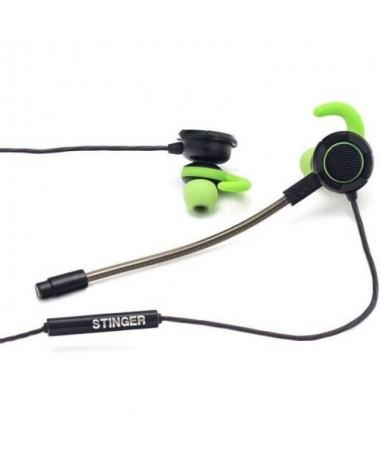 pAuriculares gaming in ear con microfono y conector de 35 mm 4 polos compatible con PC videoconsolas smartphones tablets etcbrh