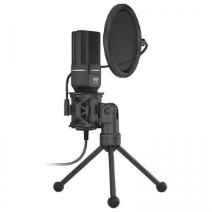 pWoxter Mic Studio 60 es un microfono para streaming ideal para grabar conversar o cantar por internet para jugar online o para