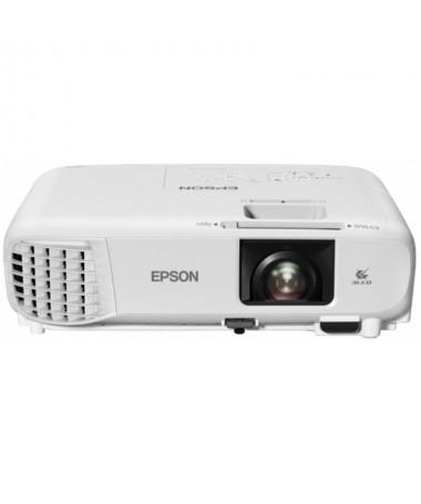pLas presentaciones se realizan sin esfuerzo con el elegante EB X49 que proyecta imagenes nitidas y ofrece un rendimiento excel