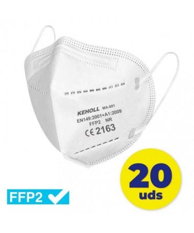 pul liFFP2 Homologadas CE 2163 li liNorma EN 149 2001 A1 2009 li liEstructura con 5 capas li liEficacia de filtracion 95 li liT