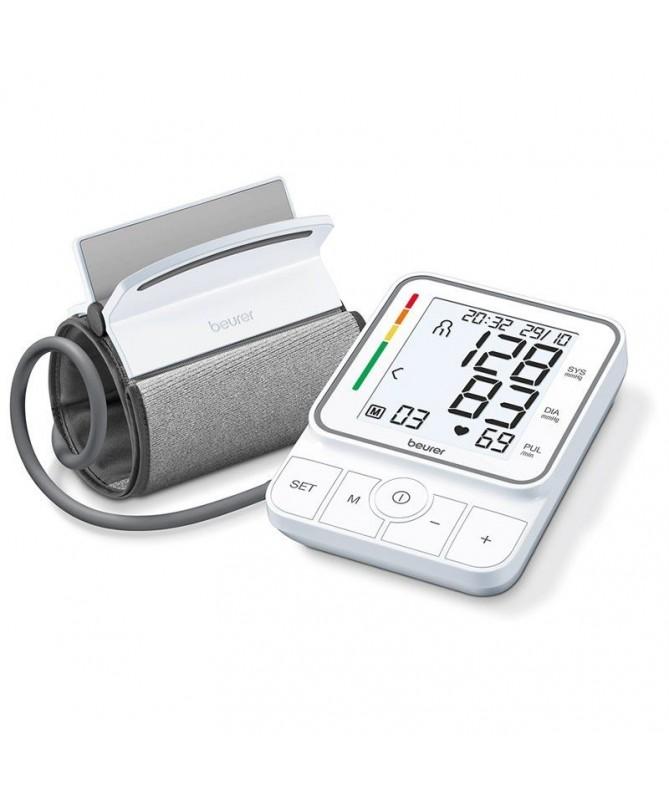 pEste tensiometro de brazo cuenta con la tecnologia de medicion de inflacion que detecta automaticamente la cantidad de aire qu