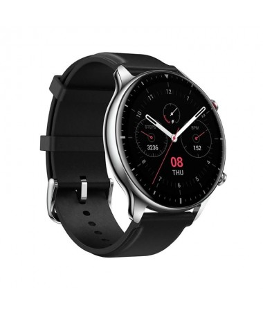 ph2Amazfit GTR 2 Classic Edition Obsidian Black Smartwatch h2ul liConcepto de diseno sin bordes gran pantalla AMOLED de alta de
